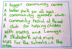 A community vision for Bellsmyre
